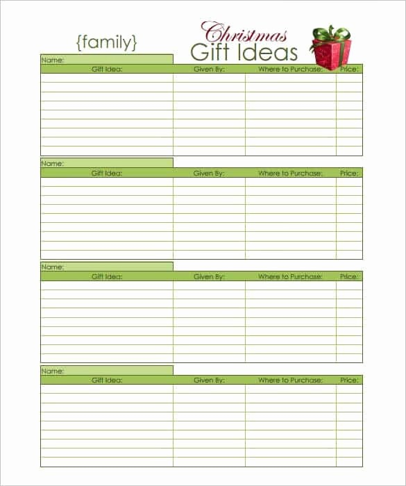 Wish List Template Microsoft Word New 10 Christmas Wish List Templates
