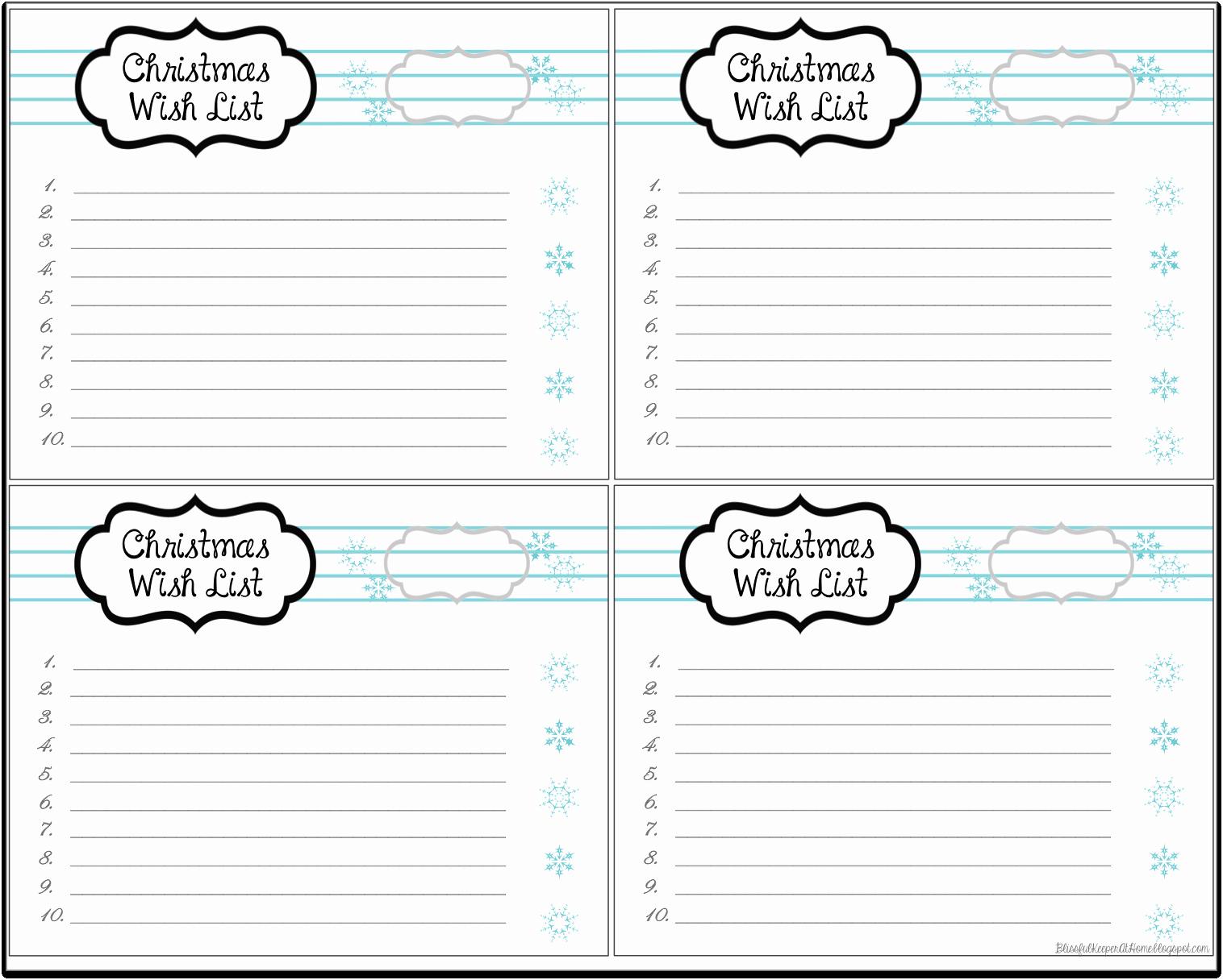 Wish List Template Microsoft Word New Contemporary Santa Wish List Line Mold Administrative