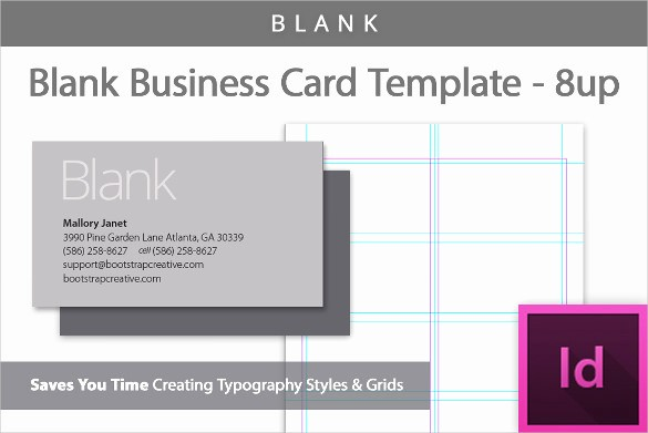 Word Blank Business Card Template Fresh 44 Free Blank Business Card Templates Ai Word Psd