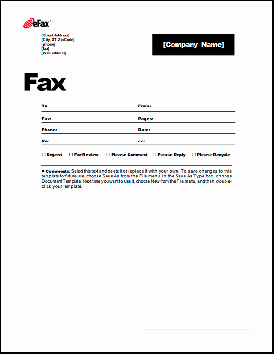 Word Fax Cover Sheet Templates New 6 Fax Cover Sheet Templates Excel Pdf formats