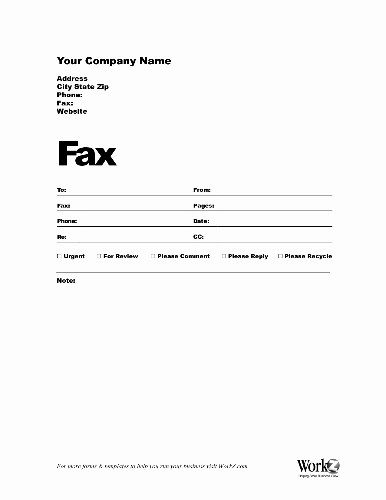Word Fax Cover Sheet Templates New Free Fax Cover Sheet Template Bamboodownunder