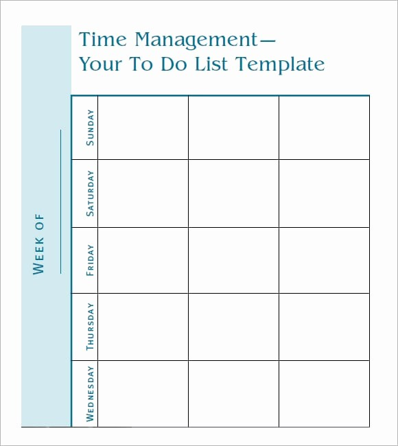 Word for Things to Do Elegant 7 to Do List Templates Word Excel Pdf Templates