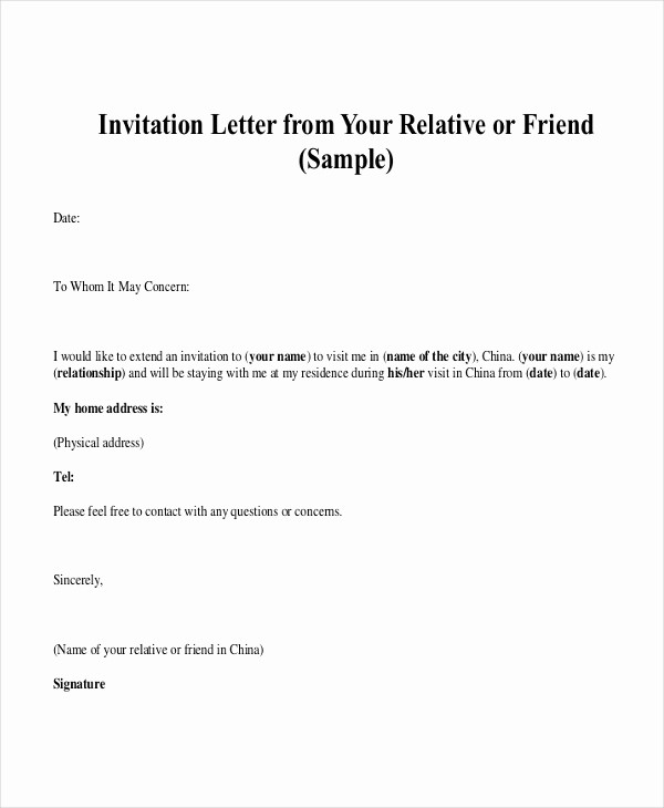 Word Letter Of Recommendation Template Fresh Personal Reference Letter 7 Free Word Excel Pdf