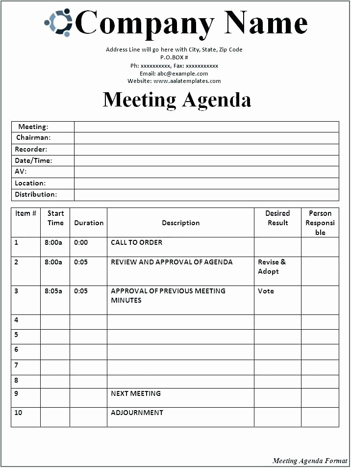 Word Template for Meeting Minutes Best Of Simple Minutes Meeting Template Free Download Detailed