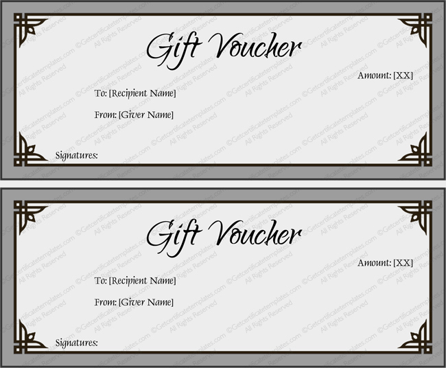 Word Templates for Gift Certificates Best Of Gift Voucher Template Simplay Gray and Beautiful Design