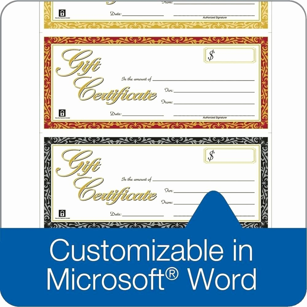Word Templates for Gift Certificates Inspirational Template Word Template Gift Certificate