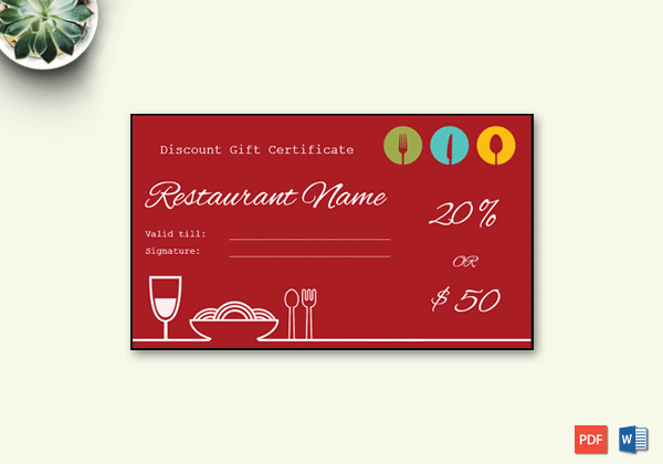 Word Templates for Gift Certificates New Gift Certificate Template 19 Choose & Customize for Any