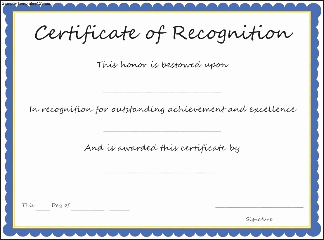 Wording for Certificate Of Achievement Awesome Army Certificate Appreciation Example Mughals
