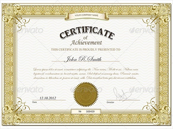Wording for Certificate Of Achievement Elegant Free Printable Certificates