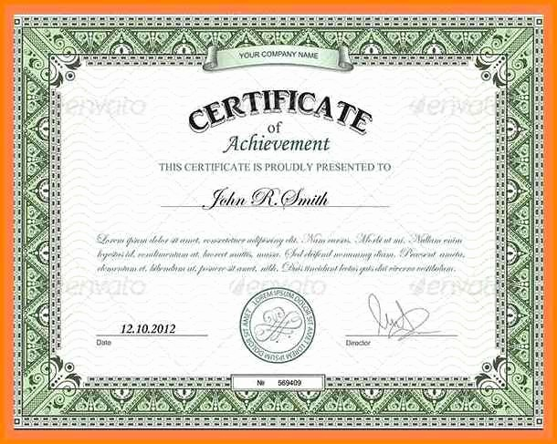Wording for Certificate Of Achievement New 19 Certificates Of Achievement Wording