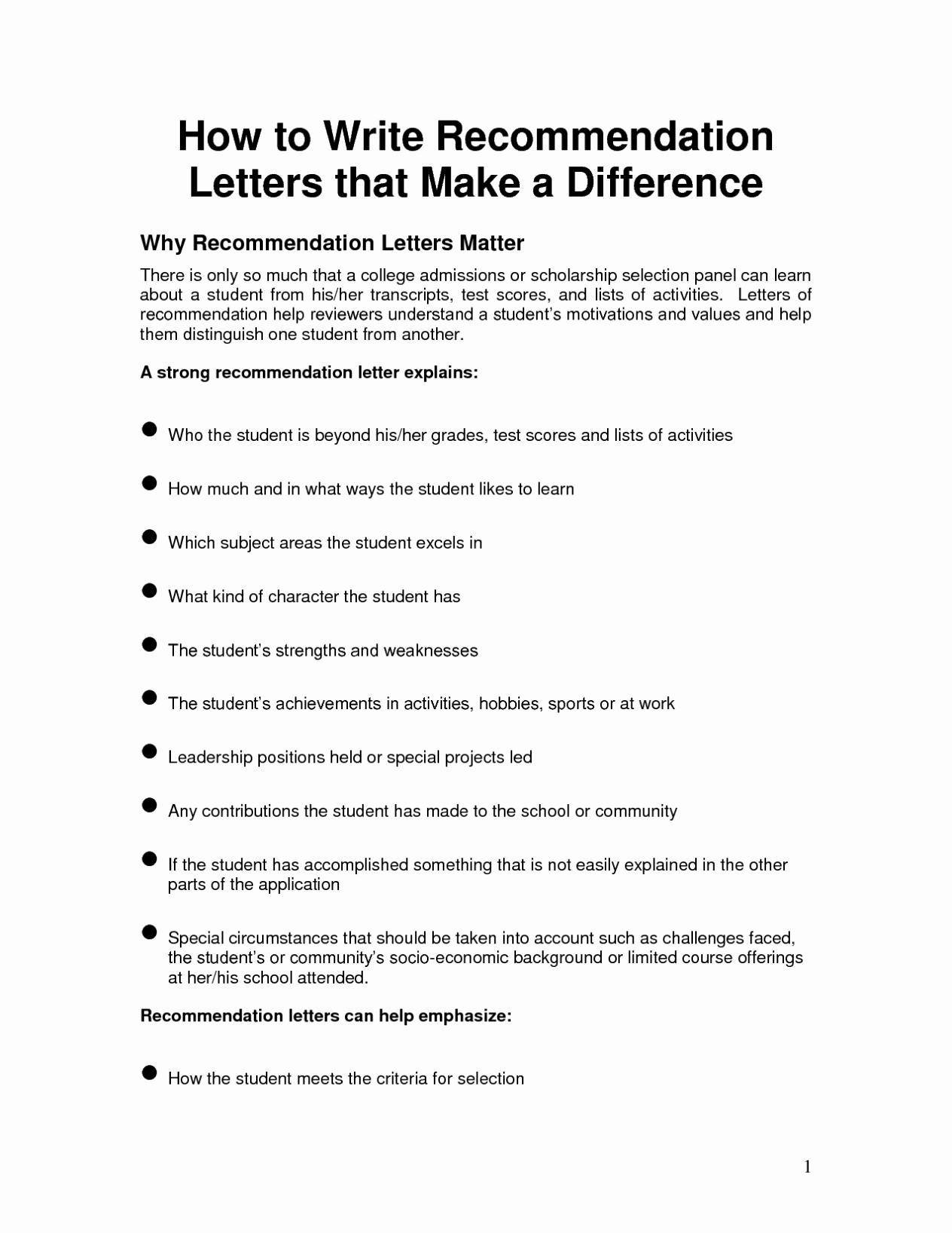 Words for Letters Of Recommendation Elegant Writing A Letter Of Re Mendation Template Sample