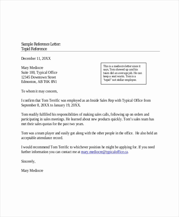 Words for Letters Of Recommendation Fresh Character Reference Letter 8 Free Word Excel Pdf