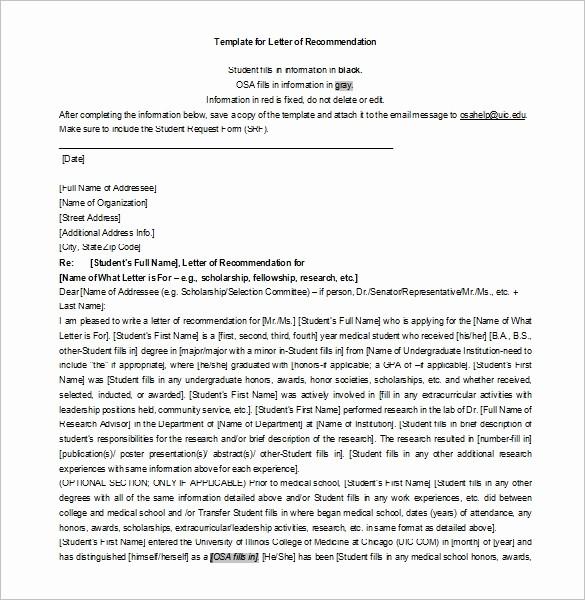 scholarship re mendation letter