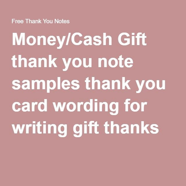 Words for Thank You Card Best Of Best 25 Sample Thank You Notes Ideas On Pinterest
