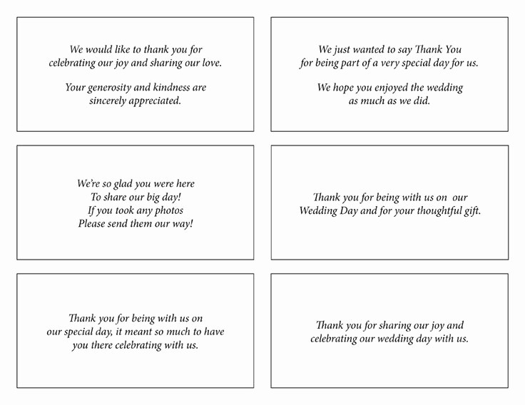 Words for Thank You Card Lovely 17 Best Ideas About Wedding Thank You Wording On Pinterest
