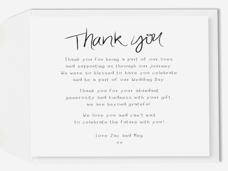 Words for Thank You Card Unique Thank You Cards for Housewarming Gifts Gift Ftempo