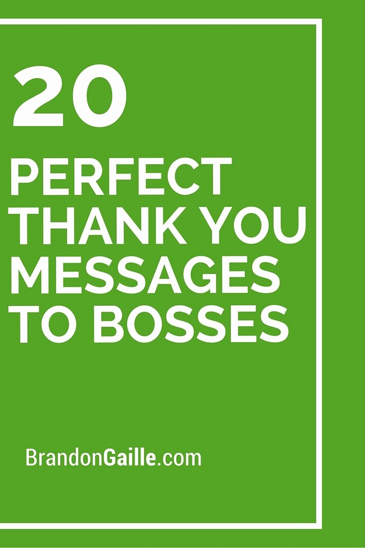 Words for Thank You Cards Beautiful 21 Perfect Thank You Messages to Bosses