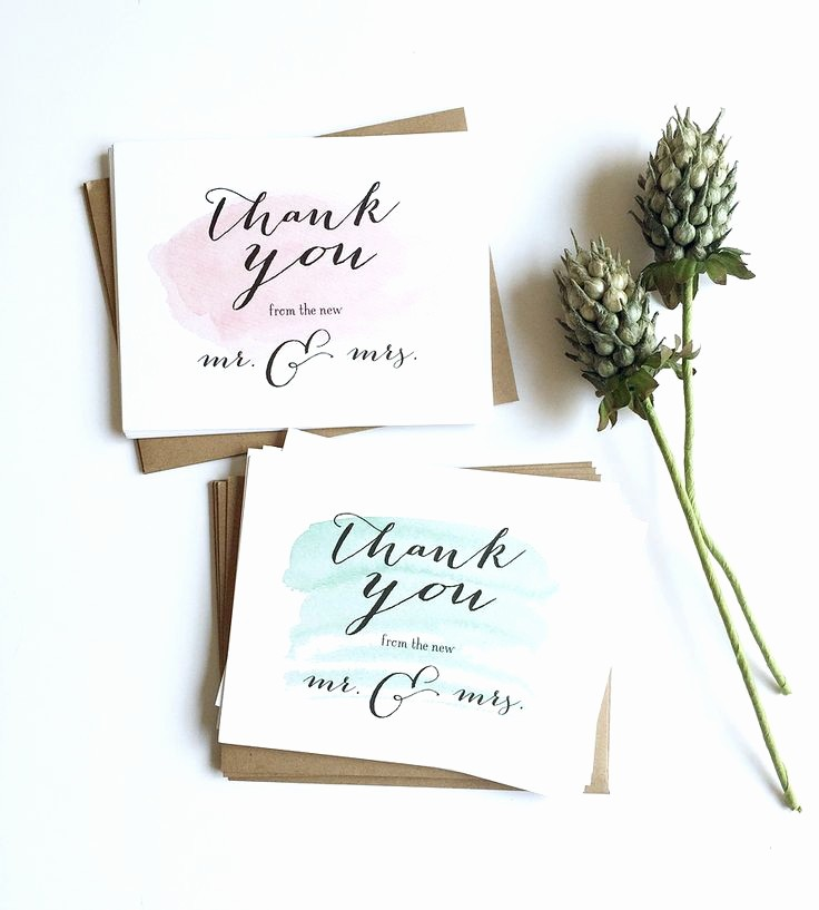 Words for Thank You Cards Beautiful 25 Best Ideas About Wedding Thank You Cards On Pinterest