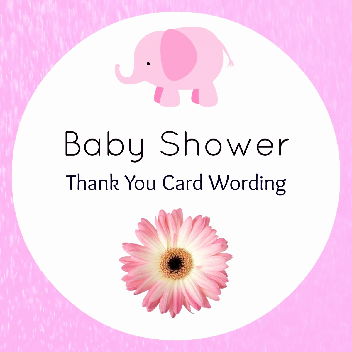 Words for Thank You Cards Unique Baby Shower Thank You Wording Hostess