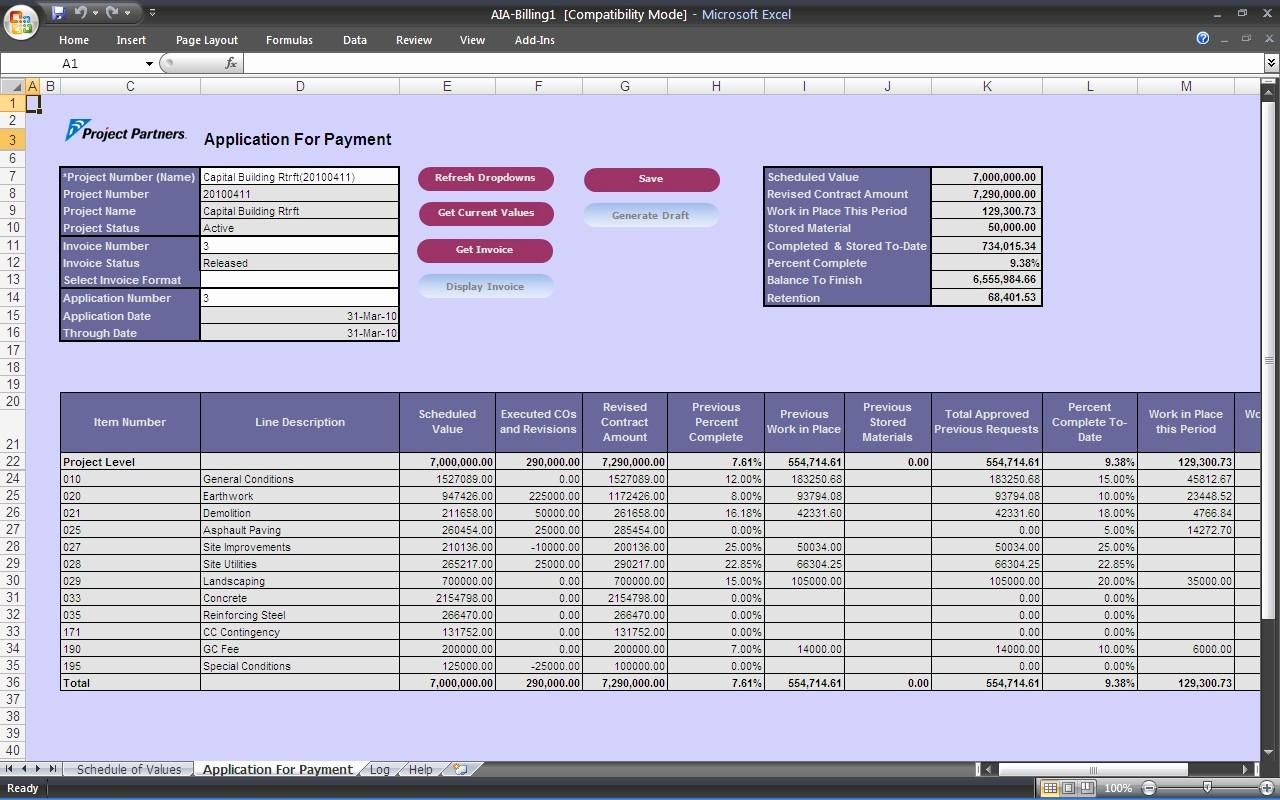 Work In Progress Template Excel Best Of Construction Work In Progress Spreadsheet – Spreadsheet
