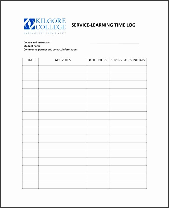 Work Log Sheet Template Excel Lovely 5 Daily Work Log Sample Sampletemplatess Sampletemplatess