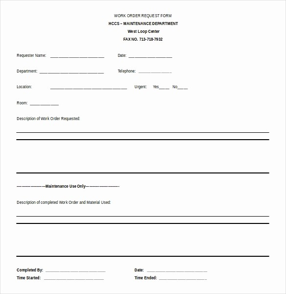 Work order Templates for Word Luxury 11 Microsoft Word 2010 Free order Templates Download