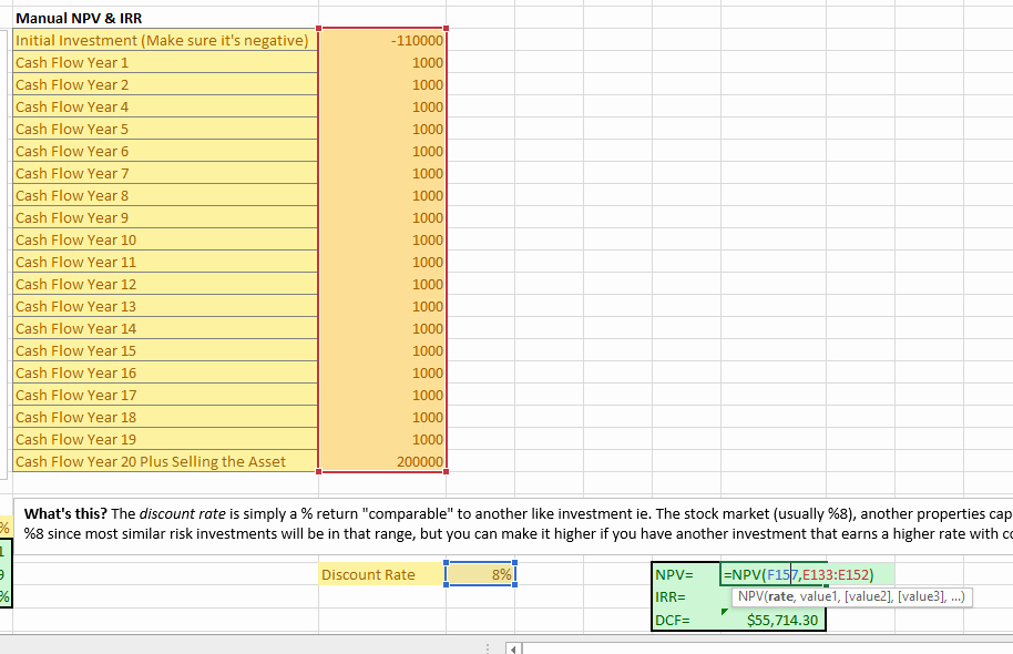 Working Capital Requirement Calculation Excel Awesome Npv Excel formula Npv Excel Template Working Capital