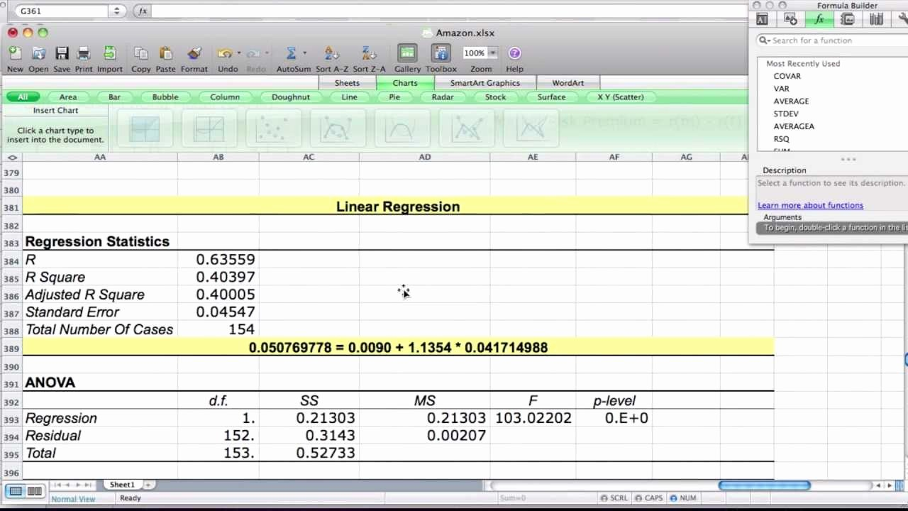 Working Capital Requirement Calculation Excel Best Of Example Of the Capital asset Pricing Model Using Excel
