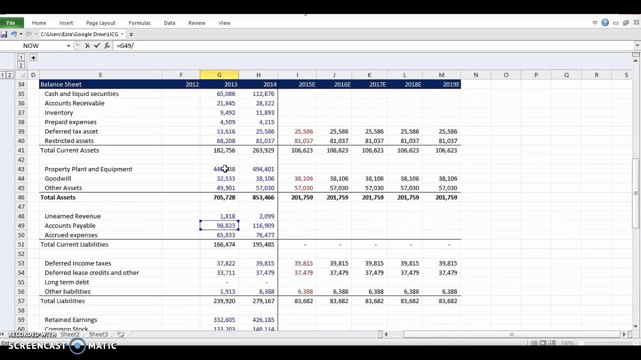 Working Capital Requirement Calculation Excel New Financial Modeling Working Capital Schedule Step 3