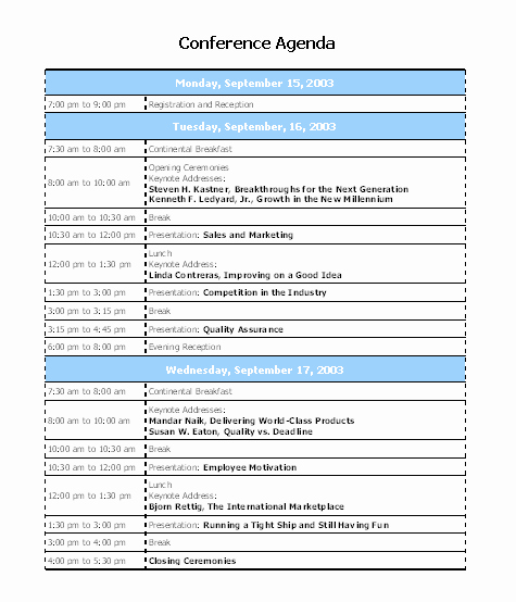 Workshop Agenda Template Microsoft Word Fresh 10 Best Of Conference Agenda Template Conference