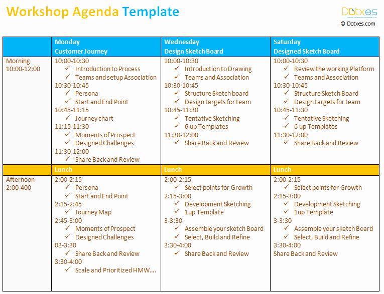 Workshop Agenda Template Microsoft Word Lovely Workshop Agenda Template Dotxes