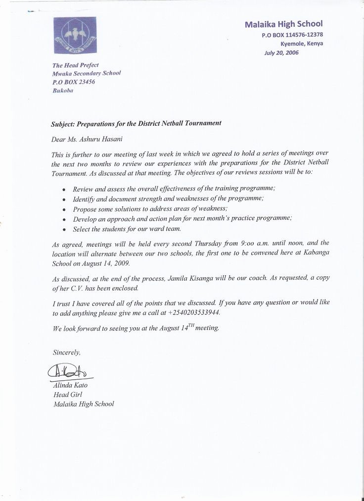 Writing A formal Business Letter Awesome Best 25 Ficial Letter Sample Ideas On Pinterest