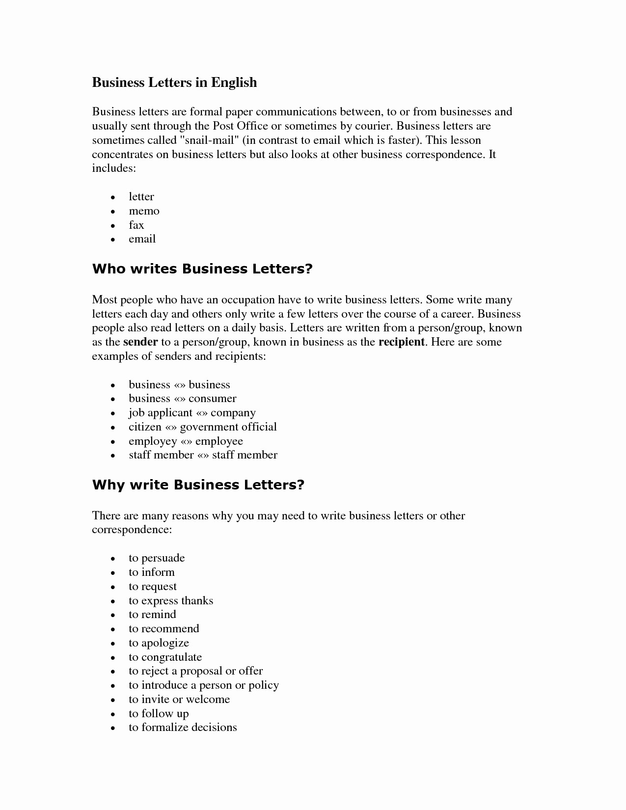Writing A formal Business Letter Best Of How to Write A formal Correspondence Letter
