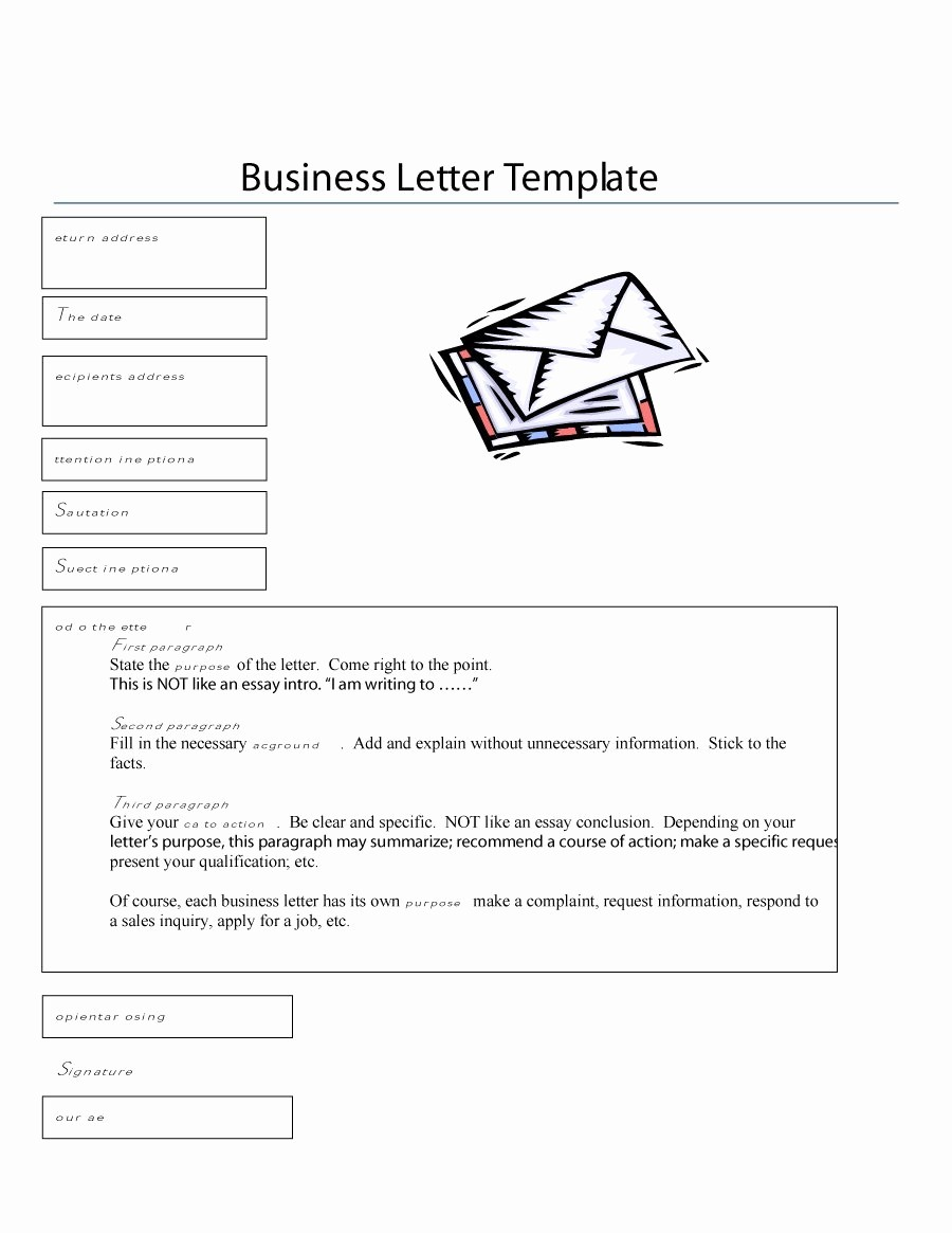 Writing A formal Business Letter Inspirational 35 formal Business Letter format Templates & Examples