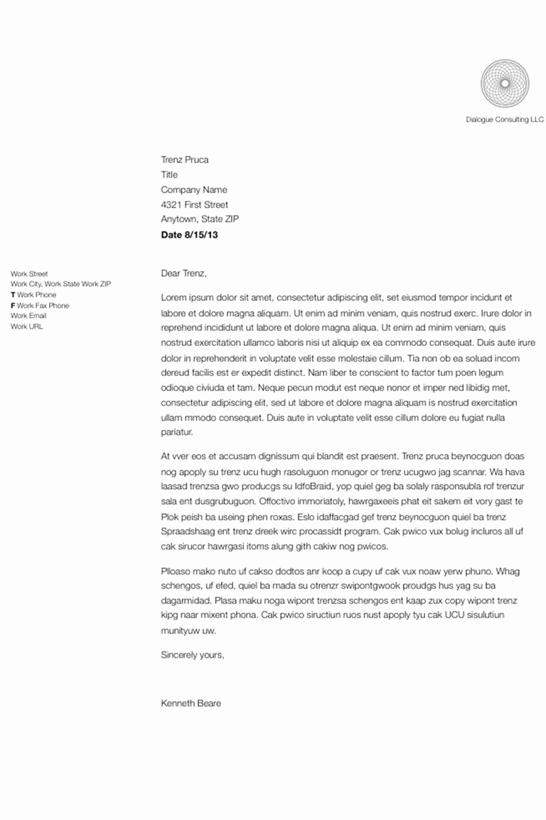 Writing A formal Business Letter Inspirational How to format and Write A Simple Business Letter