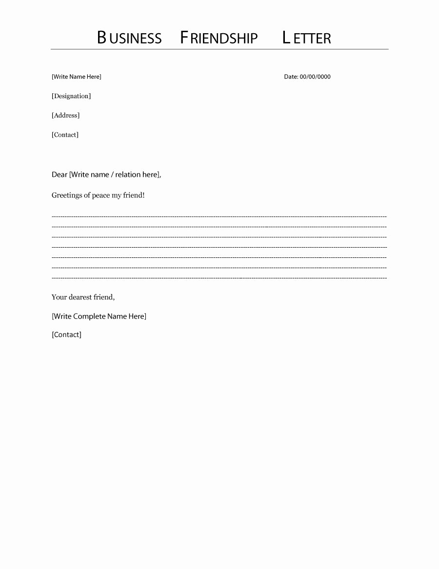 Writing A formal Business Letter New 35 formal Business Letter format Templates & Examples