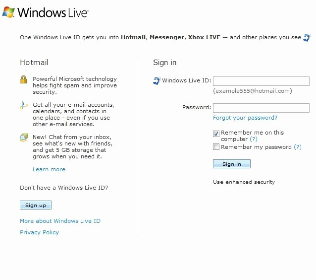 Www Hotmail Com Login Page Awesome Login & Sign Up to Hotmail Here