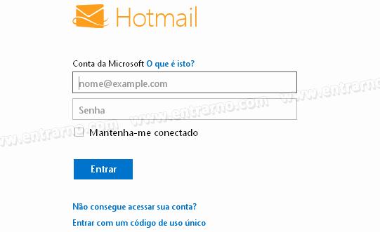 Www Hotmail Com Login Page Beautiful Entrar No Hotmail Ou Fazer Login
