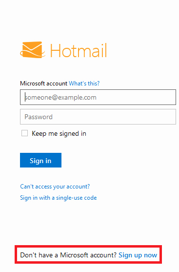 Www Hotmail Com Login Page Inspirational How to Sign Up for A Hotmail Live Email Address Account