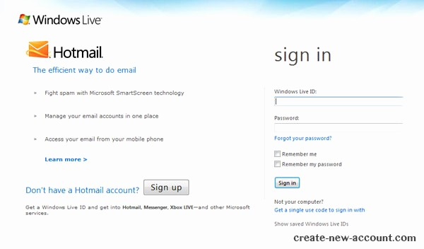 Www Hotmail Com Login Page Inspirational Sign In Hotmail