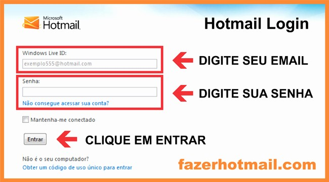 Www Hotmail Com Login Page Lovely Hotmail Login – Entrar No Email
