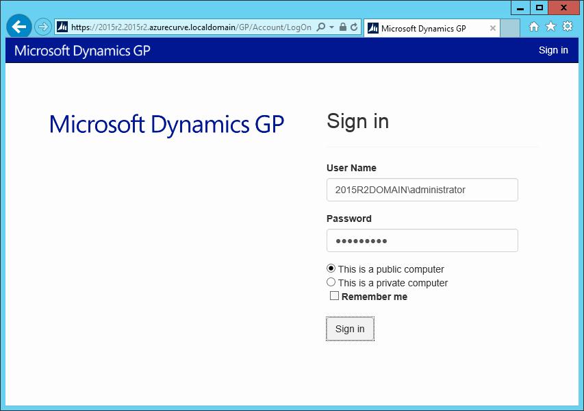 Www.login.microsoftonline.com Http //www.login.microsoftonline.com Awesome Hands with Microsoft Dynamics Gp 2015 R2 Web Client