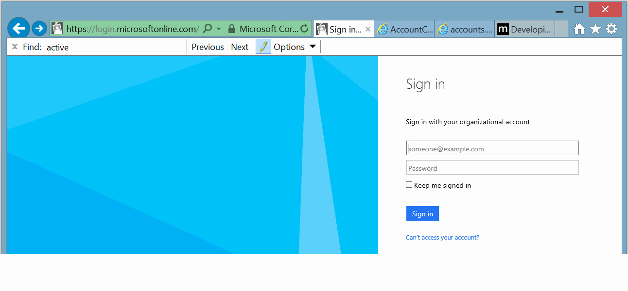 Www.login.microsoftonline.com Http //www.login.microsoftonline.com Beautiful Openid Connect is It Possible to Redirect to An Azure Ad