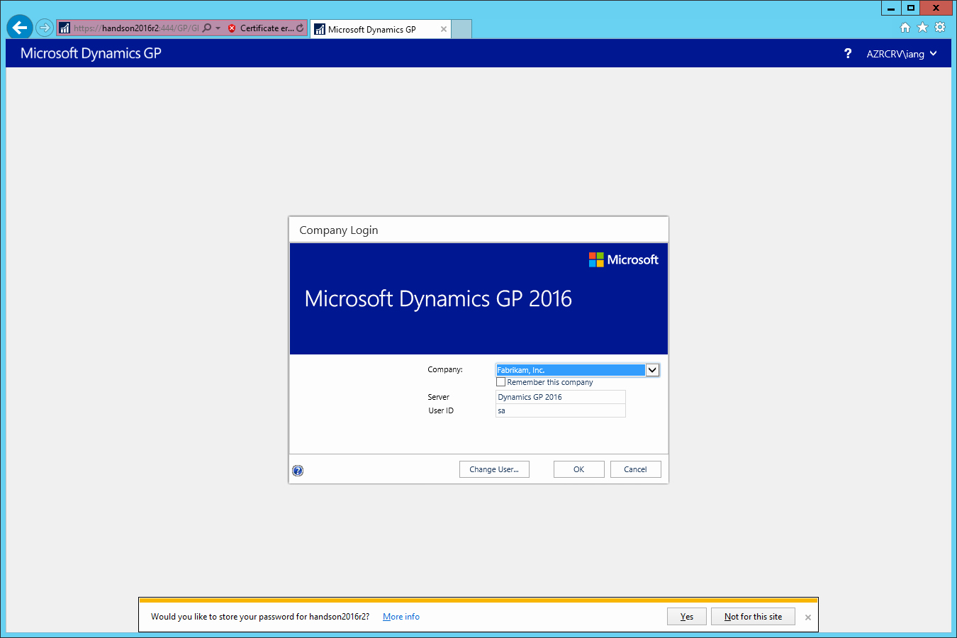 Www.login.microsoftonline.com Http //www.login.microsoftonline.com Luxury Hands with Microsoft Dynamics Gp 2016 R2 Test Web