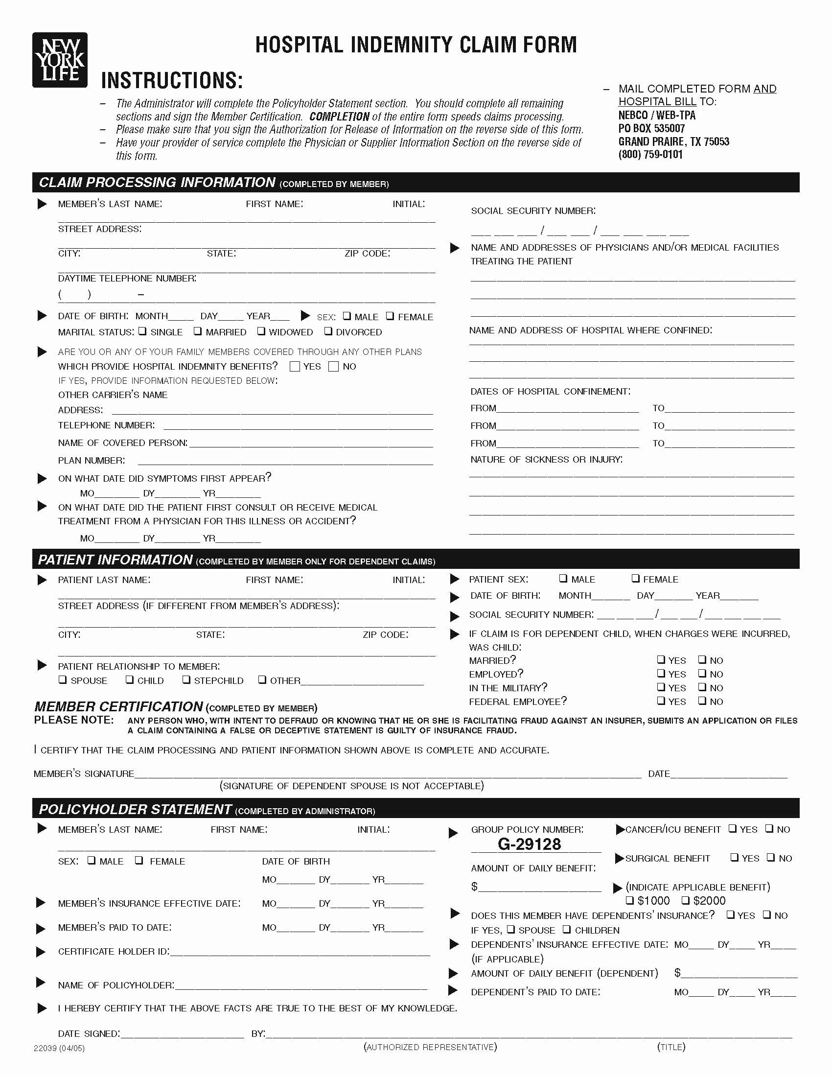 Www Pratcpasettlement Com Claim form Unique Claim forms