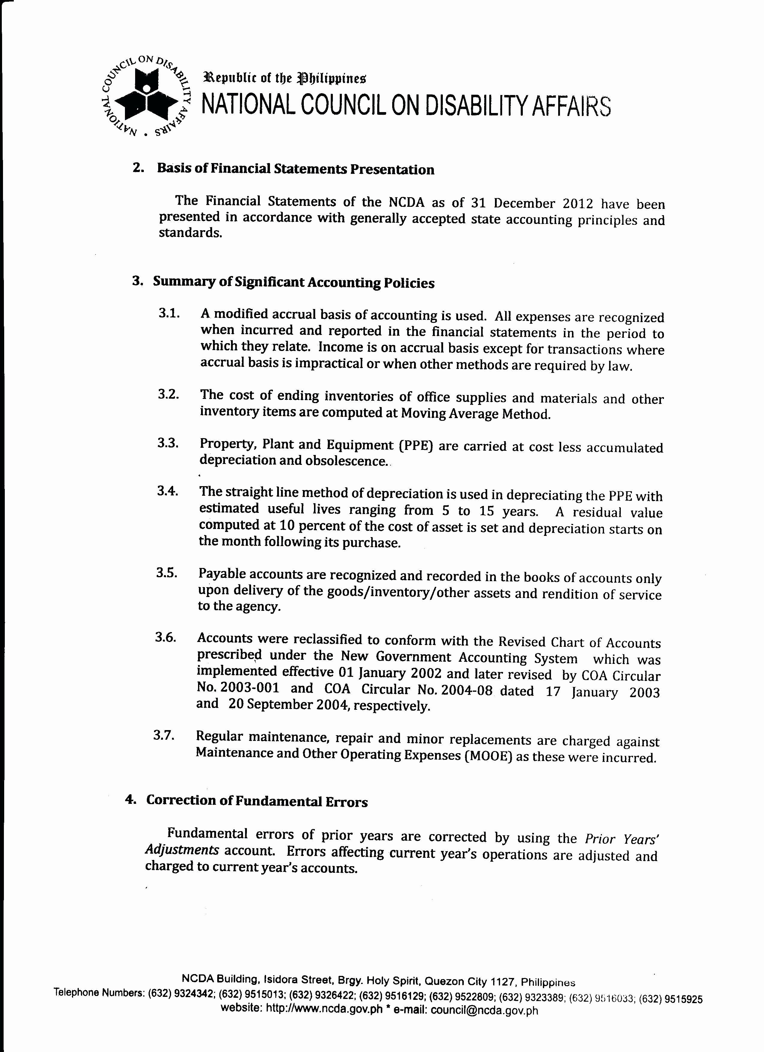 Year End Financial Statement Template Awesome Template Safety Award Template