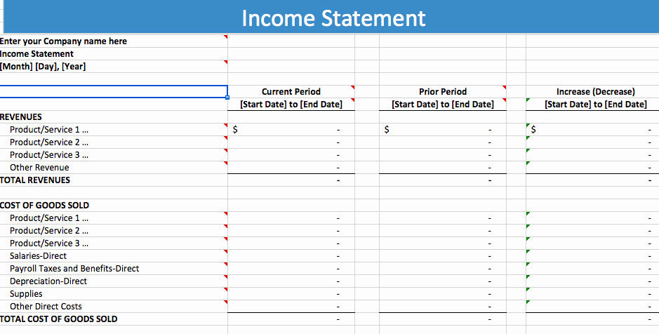 Year End Financial Statement Template Elegant 21 Free In E Statement Templates In Word Excel Pdf