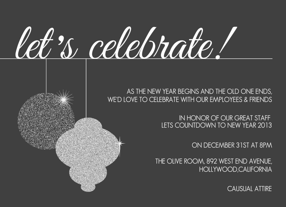 Year End Party Invitation Templates Awesome Pany Year End Party New Year Invitation – Festival