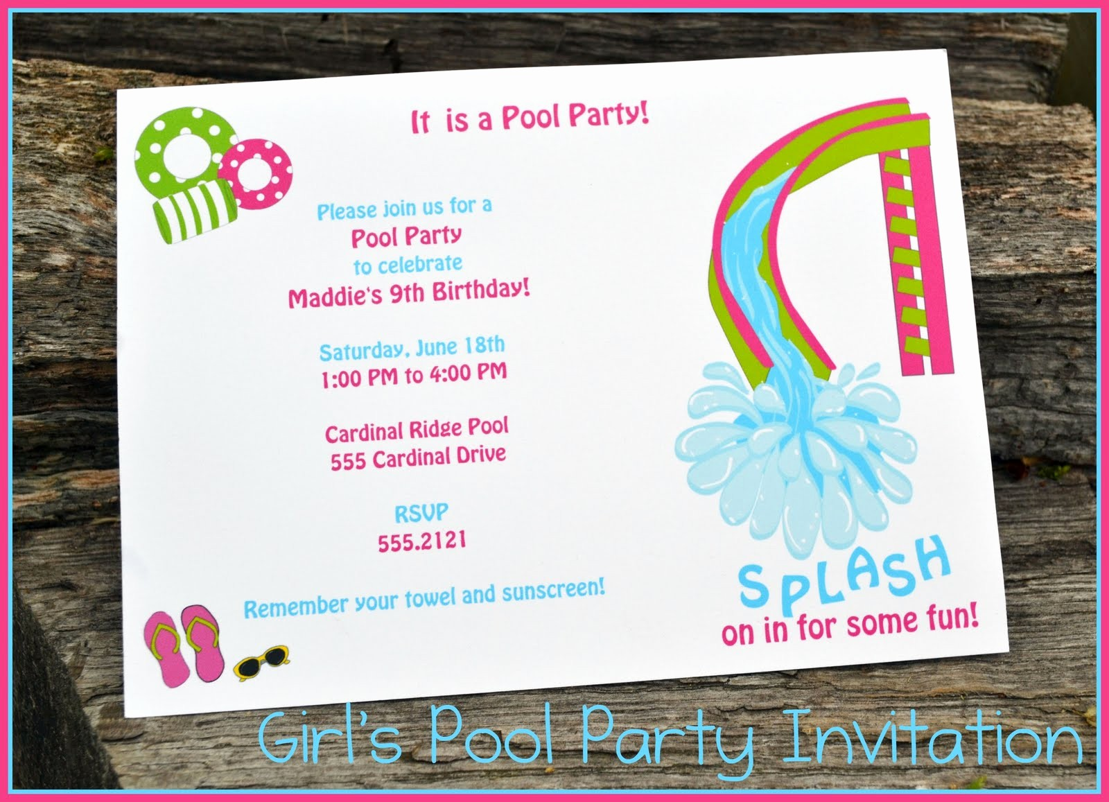 Year End Party Invitation Templates Elegant Pool Party Invitations Designs Tedxumkc Decoration Wedding