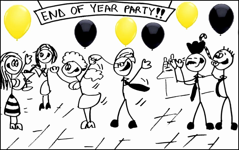 Year End Party Invitation Templates Fresh End Of Year and X Mas Party